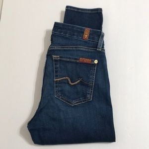 7 for ALL MANKIND Jeans B(air) the Skinny Size 25